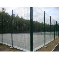 Фото Панельный забор для спортплощадки H - 4 м /ППЛ/2D/200х50/5мм Ограждение спортивных площадок