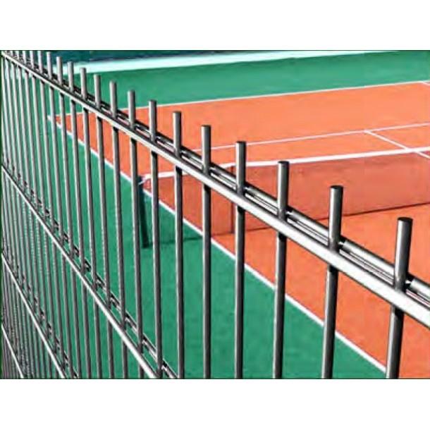 Фото Панельний паркан для спортмайданчика H - 2.9 м / ППЛ / 2D / 200х50 / 5мм Огорожа спортивних майданчиків