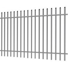 """Металлический забор """"Деко секьюрити"""" 2.5х2 из профильной трубы"""