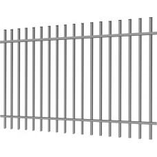 """Фото Металлический забор """"Дзен стандарт"""" 2.5х2 из профильной трубы Забор из металлопрофиля"""