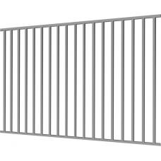 """Фото Металлический забор """"Дзен"""" 2.5х2 из профильной трубы Забор из металлопрофиля"""