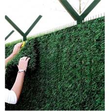 Установка и монтаж зелёного забора Green mix