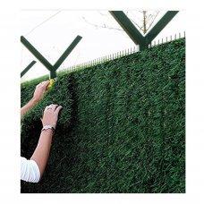 Фото Установка и монтаж зелёного забора Green mix Ограждение дома
