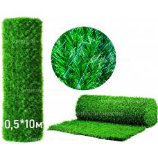 Забор Green mix зелёная трава H -0,5х10