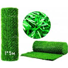 Фото Забор Green mix зелёная трава H -1х5 Зелёный забор - Green Mix ТМ