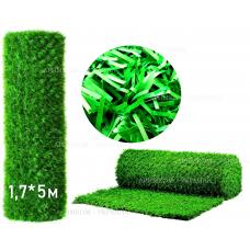 Забор Green mix зелёная трава H -1,7х10