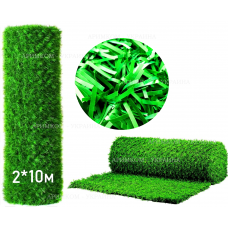 Фото Забор Green mix зелёная трава H -2х10 Зелёный забор - Green Mix ТМ