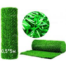 Забор Green mix зелёная трава H -0,5х5