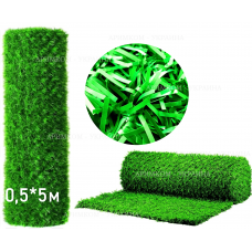 Фото Забор Green mix зелёная трава H -0,5х5 Зелёный забор - Green Mix ТМ