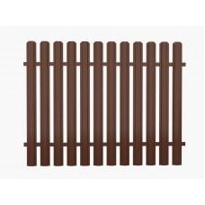 Фото Штакетный забор 2*1.25м/0,45мм Штакетный забор